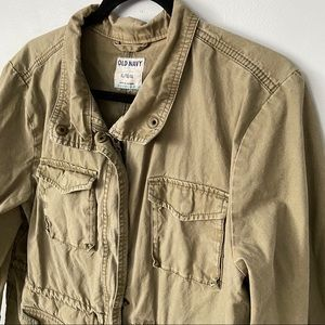 Old Navy Jackets & Coats - OLD NAVY | Green cargo utility jacket
